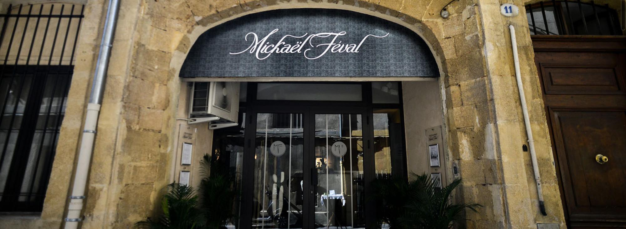 restaurant Michaël Féval devanture