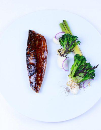 Poisson Laqué - Restaurant Mickaël Féval